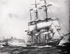 John Lockett Leaving the Tyne, by Frank H. Mason